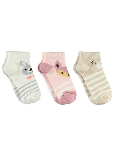 Civil Girls Civil Girls Kız Çocuk 3'lü Çorap Set 2-12 Yaş Pembe Civil Girls Kız Çocuk 3'lü Çorap Set 2-12 Yaş Pembe Pembe